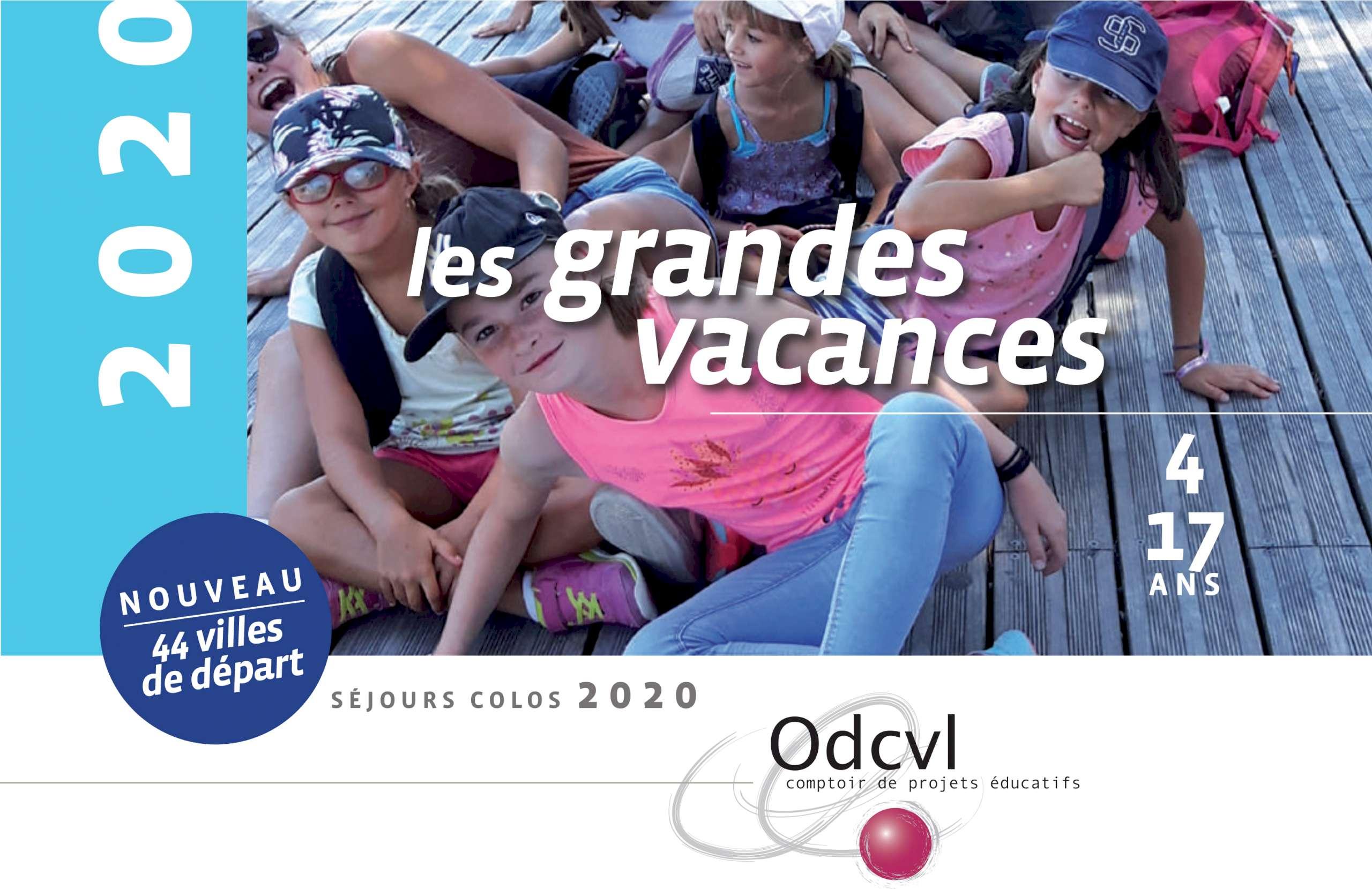 Catalogue Colonies de Vacances Odcvl